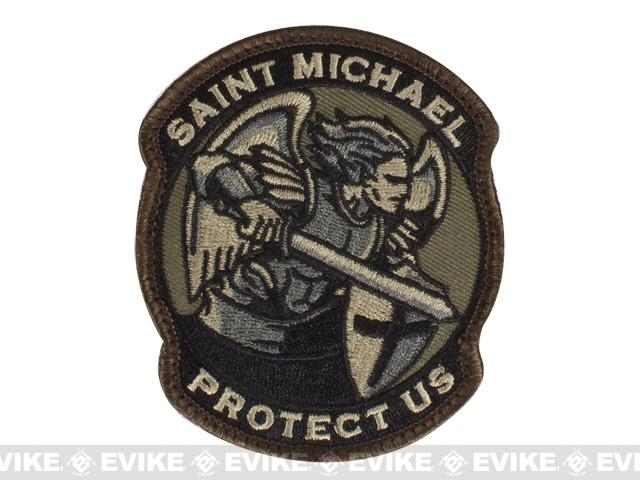 Mil-Spec Monkey Saint-M Modern Hook and Loop Patch - Forest