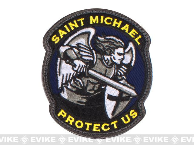 Mil-Spec Monkey Saint-M Modern Hook and Loop Patch - Full Color