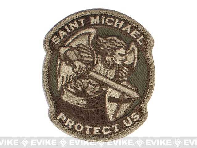 Mil-Spec Monkey Saint-M Modern Hook and Loop Patch - Multicam
