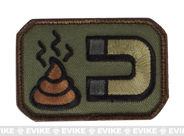 Mil-Spec Monkey Sh*t Magnet Hook and Loop Patch - Forest