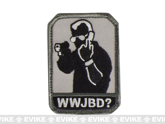 Mil-Spec Monkey WWJBD? Hook and Loop Patch - SWAT