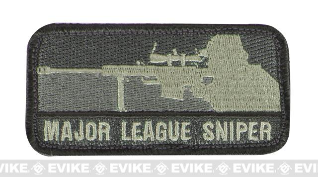 Mil-Spec Monkey Major League Sniper Hook and Loop Patch - ACU Light