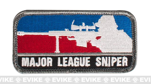 Mil-Spec Monkey Major League Sniper Velcro Patch - Full Color