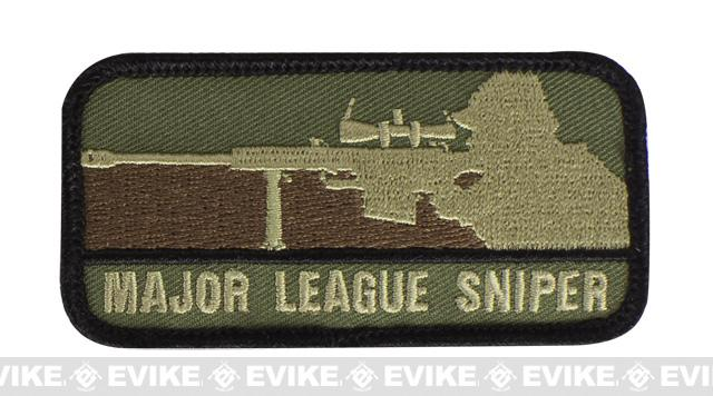 Mil-Spec Monkey Major League Sniper Hook and Loop  Patch - Forest