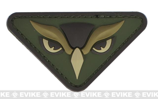 Mil-Spec Monkey Owl Head PVC Patch - Multicam