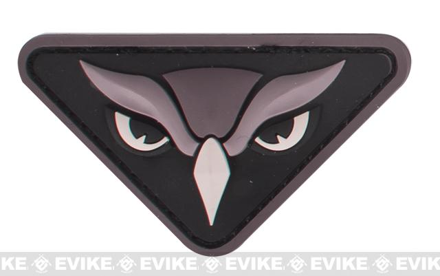 Mil-Spec Monkey Owl Head PVC Patch - SWAT