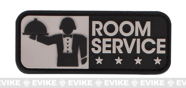 Mil-Spec Monkey Room Service PVC Hook and Loop Patch - SWAT