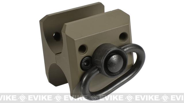G&P QD Sling Adapter for M870 Series Airsoft Shotguns - Sand