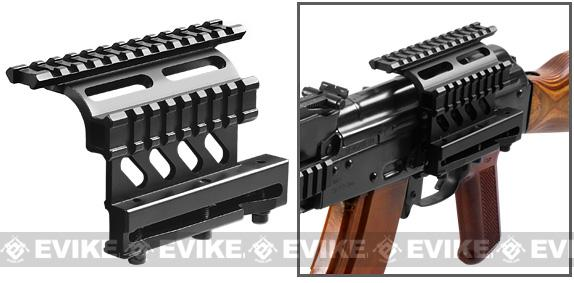 NcStar AK QD Side Rail Optics / Scope Mount with Double Rail