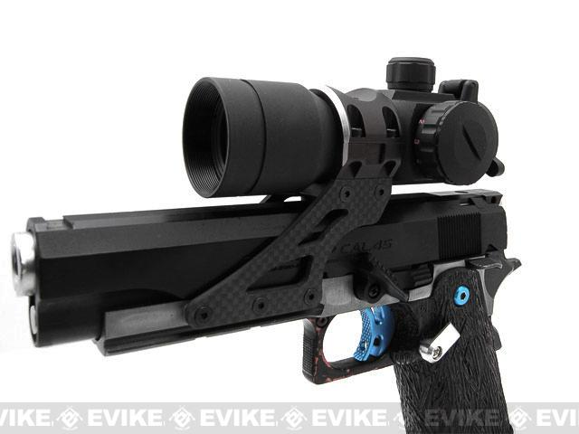 Graphite Aimpoint Style 30mm Scope Sight Mount for HI-CAPA Series Airsoft GBB - Black