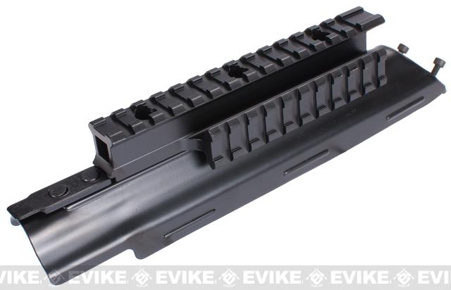 z Matrix Steel Tri-Rail Upper Receiver Cover For AK Series Rifles