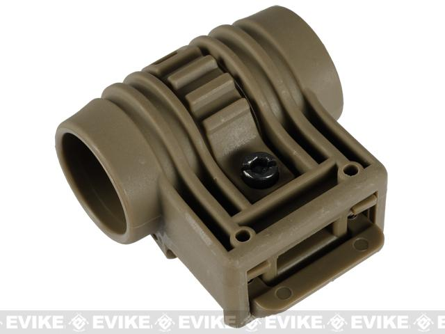 Element Tactical Flashlight / Laser Weaver QD Mount - Dark Earth