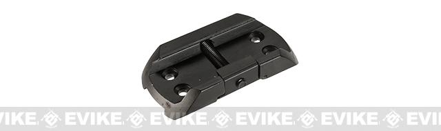 Matrix CNC Aluminum Micro T1 Mount / Riser - Black (Short)