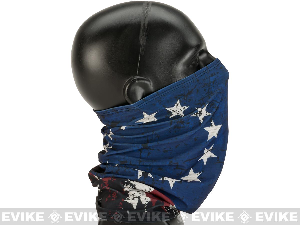 MoeGuns Full Face Wrap - Betsy Ross