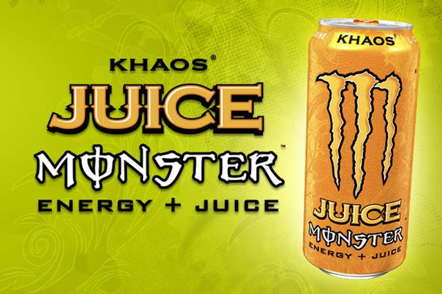 Monster Energy Drink - Juice Monster - Khaos