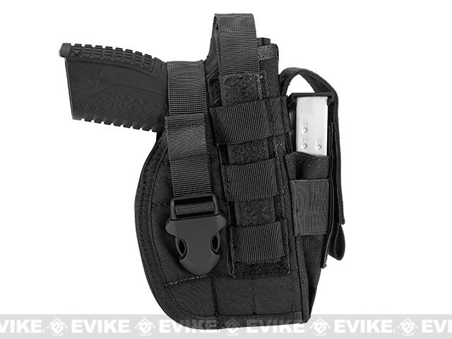 Avengers MOLLE Tactical Pistol Holster - Black