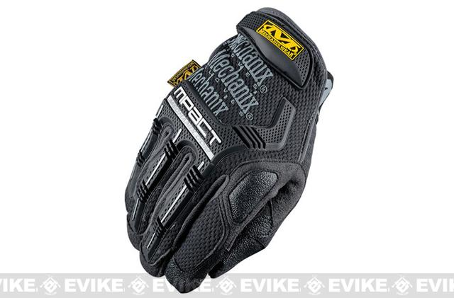 Mechanix Wear M-Pact Gloves - Black/Grey (Size: Large)