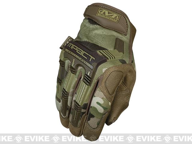Mechanix Multicam M-Pact Tactical Gloves - Multicam (Size: Large)