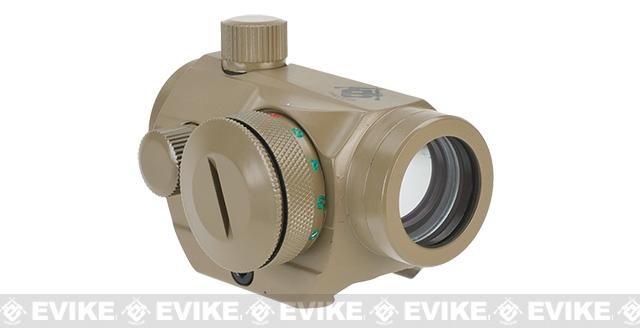 Evike.com T1 Micro Reflex Red & Green Dot Sight / Scope - Tan