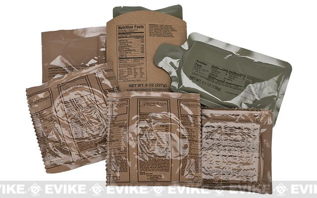Evike.com MRE Ready-To-Eat Meals (Course: #3 Southwest Style Beef in Black Bean Sauce)