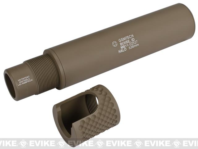 Mad Bull Gemtech HALO Mock Suppressor (Tan)