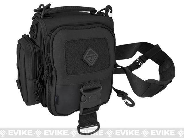 Hazard 4 Sidekick Tonto Concealed Carry Mini-Messenger Bag - Black