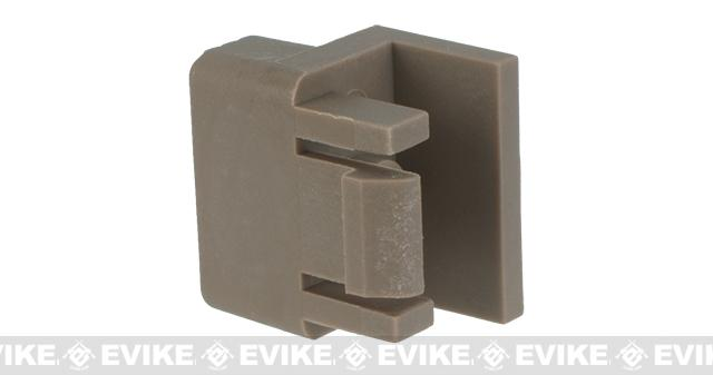 WE-Tech Stock Locking Latch for MSK Series Gas Blowback Rifles - Tan (Part #119)