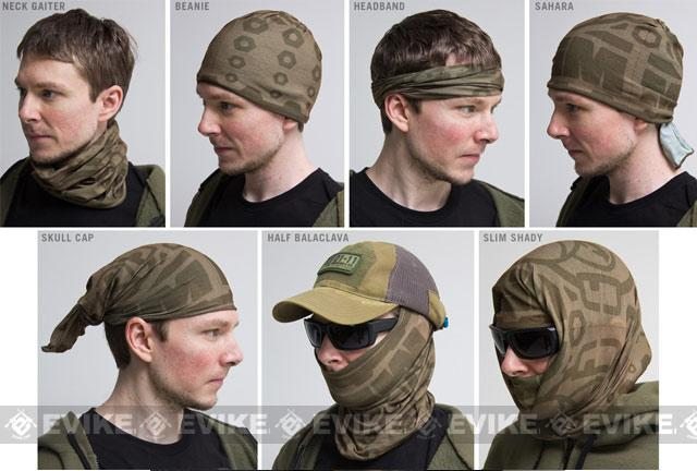 Mil-Spec Monkey MSM Skull Mask MultiWrap - Urban
