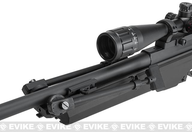 ARES Airsoft MSR-009 Gas Powered Bolt Action Sniper Rifle - Black