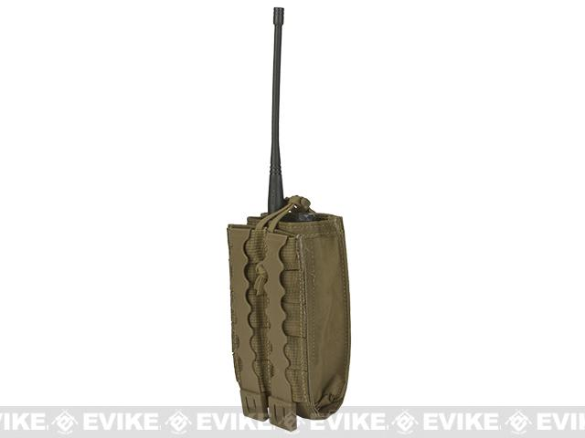 MilSim West Baofeng Radio Pouch by Tactical Tailor - Coyote Brown