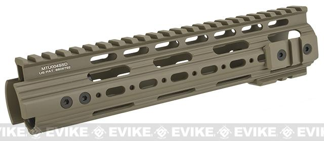 UTG PRO AR15 / M4 / M16 9 SuperSlim Free Float Modular Handguard - Flat Dark Earth Cerakote