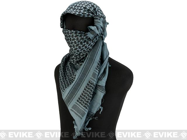 Matrix Woven Coalition Desert Shemagh / Scarves. (Foliage Green/Black)
