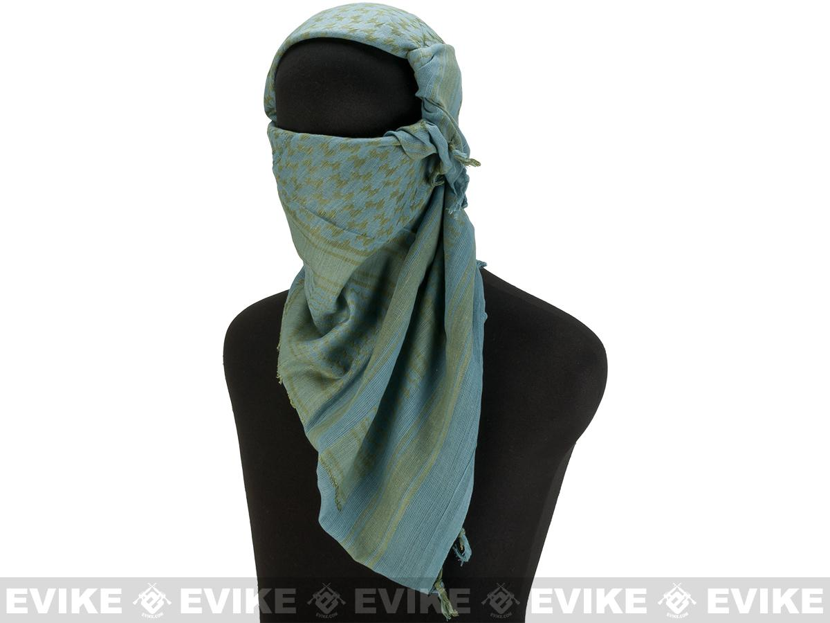 Matrix Woven Coalition Desert Shemagh / Scarves. (ACU/Green)