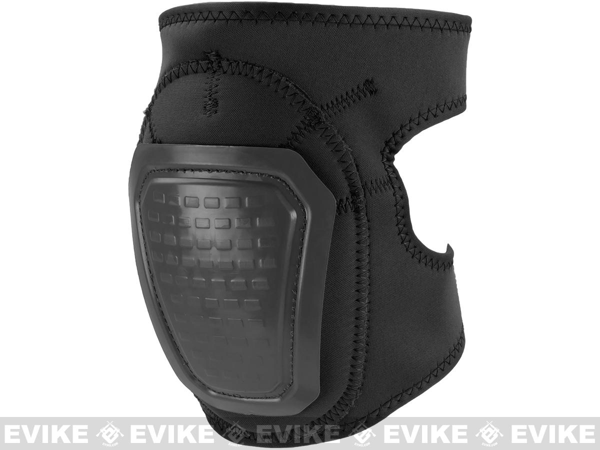 Matrix Bravo Advanced Neoprene Tactical Knee and Elbow Pad Set (Color: Black)