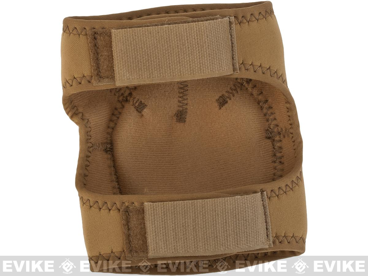 Matrix Bravo Advanced Neoprene Tactical Knee and Elbow Pad Set (Color: Desert Tan)