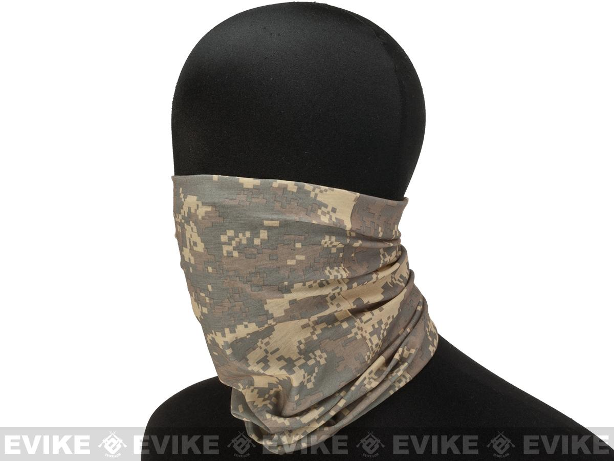 Matrix Multi-Purpose Tactical Head Wrap Neck Guard Bandana - ACU Digital Marpat