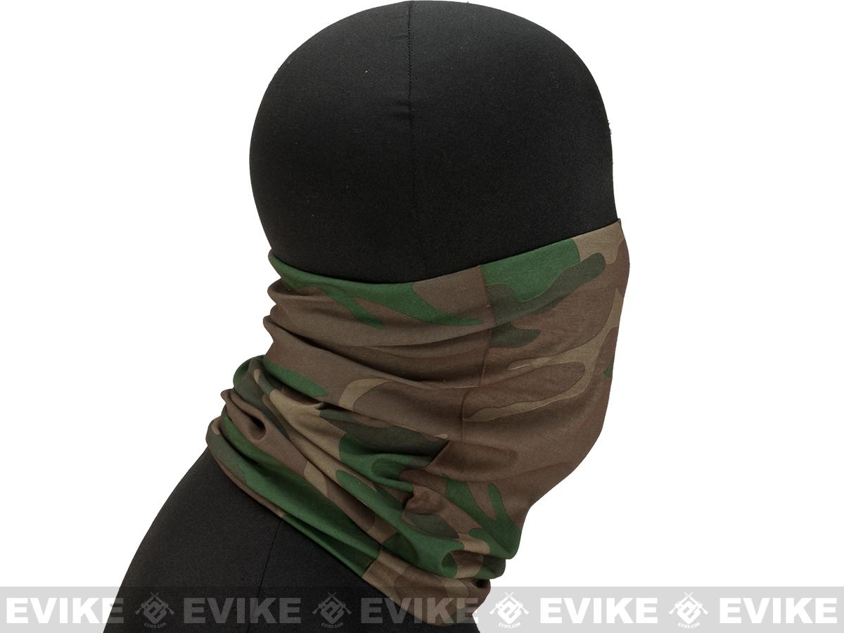 Matrix Multi-Purpose Tactical Head Wrap - (Woodland)