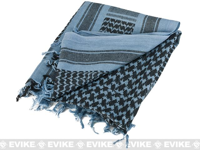 Matrix Woven Coalition Desert Shemagh / Scarves - Navy / Black