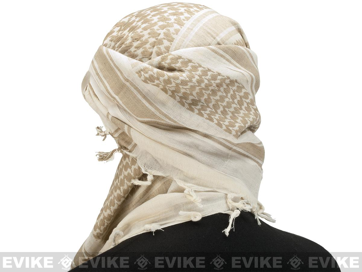 Matrix Woven Coalition Desert Shemagh / Scarves - Coyote Brown / Tan