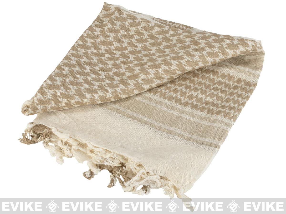 Matrix Woven Coalition Desert Shemagh / Scarves (Color: Coyote Brown / Tan)
