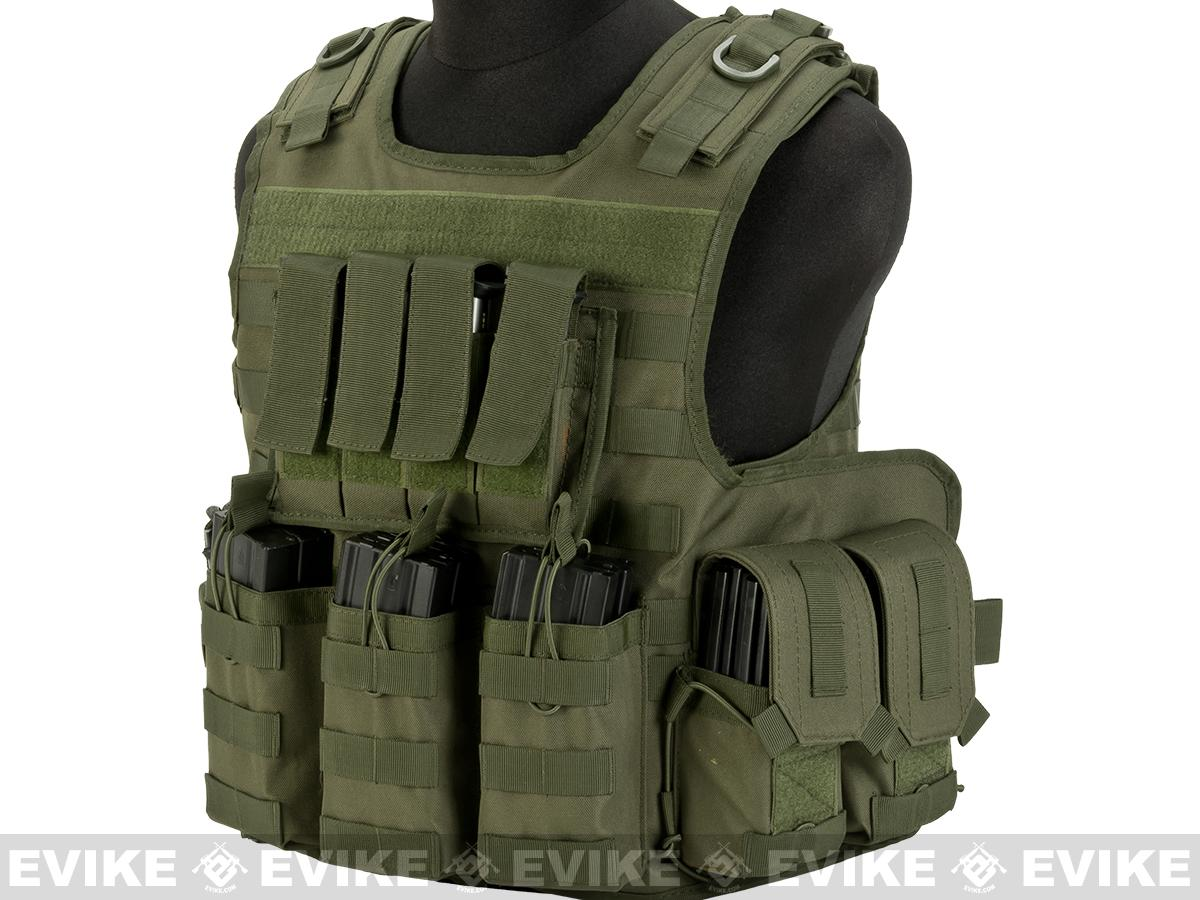Matrix MTS Small Arms Light Assaulter Vest - OD Green