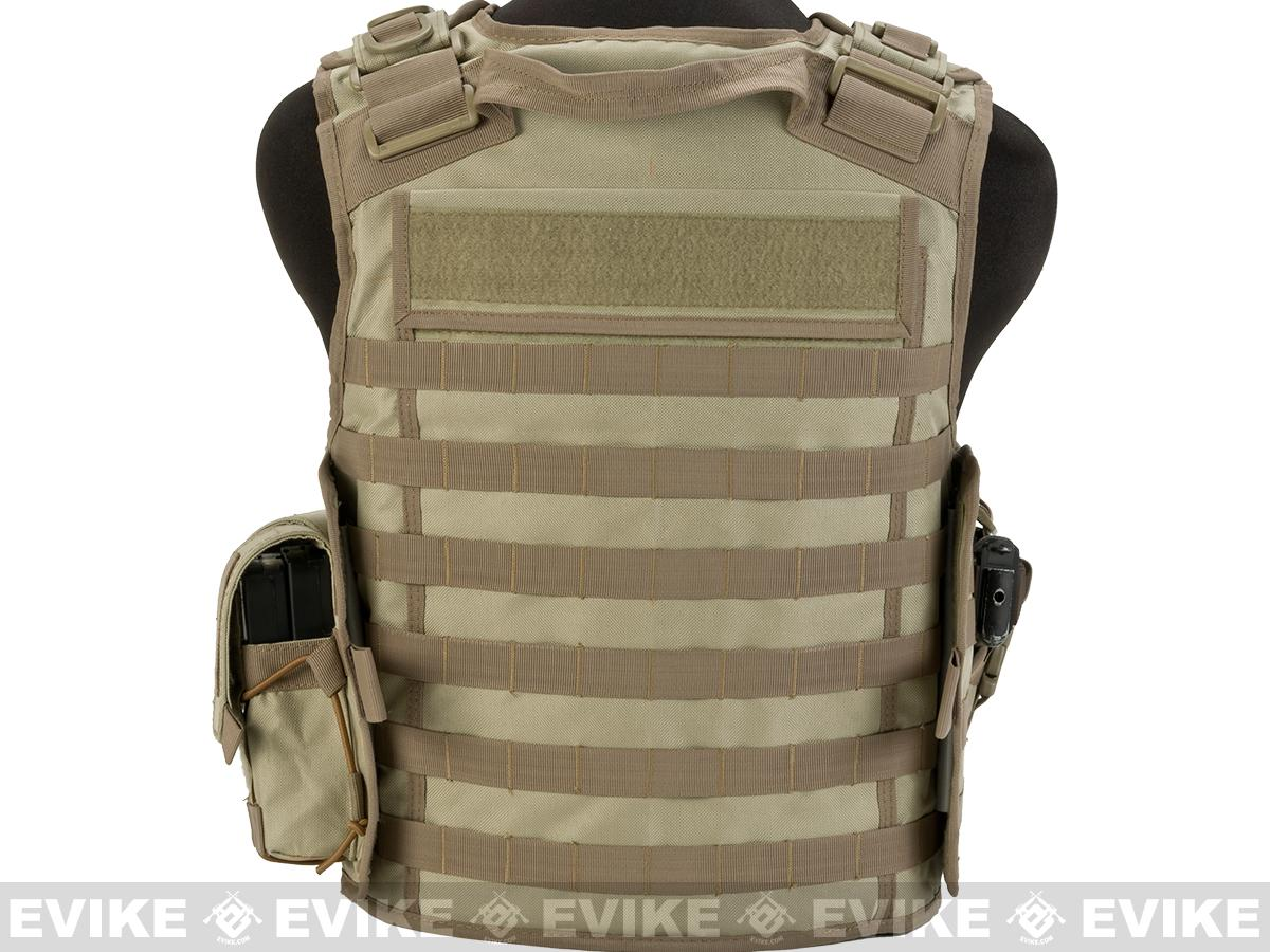 Matrix MTS Small Arms Light Assaulter Vest - Tan