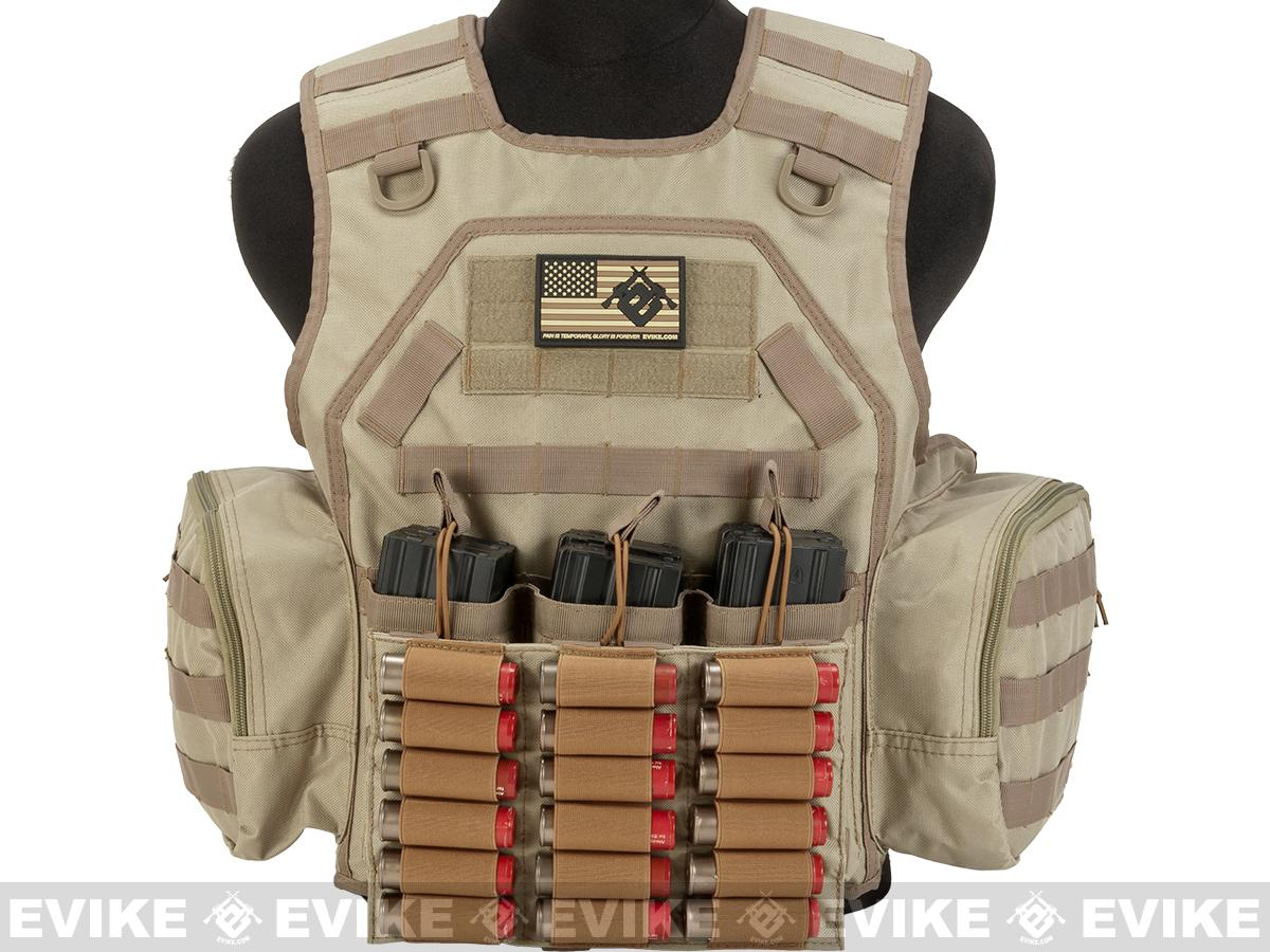 Matrix MTS Commando / Infantry Ammo Vest - Tan