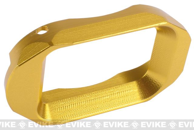 z Matrix IPSC CNC SPY Type Magwell for Hi-CAPA Series Airsoft GBB - Gold