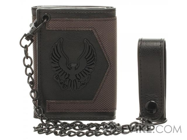 HALO 5 UNSC Trifold Chain Wallet - OD Green / Black