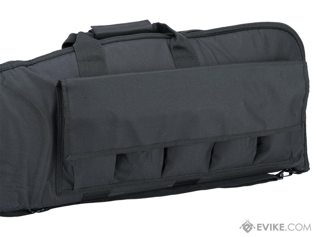 NcStar 46 Deluxe Padded Rifle Case with External Magazine Pockets