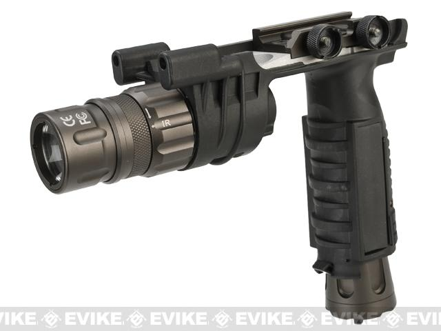 Night Evolution V2 LED Weapon Light Vertical Grip - Black