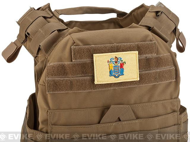Evike.com Tactical Embroidered New Jersey Flag The Garden State Patch