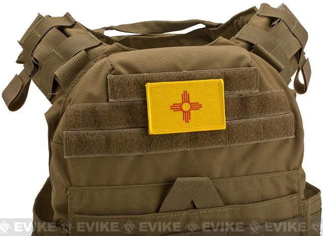 Evike.com Tactical Embroidered Flag Patch (State: New Mexico The Land of Enchantment)