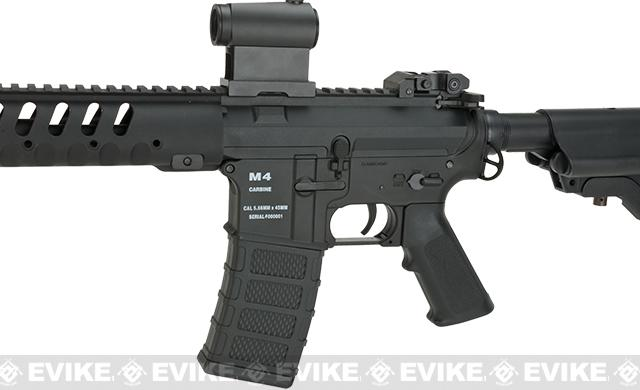 Pre-Order ETA January 2017 Classic Army Delta 10 Airsoft M4 AEG with Polymer Receiver - Black
